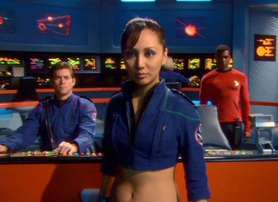 Empress Hoshi Sato (Linda Park) from the Enterprise episode, 'In A Mirror Darkly'