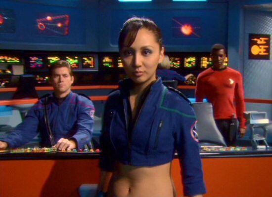 Empress Hoshi Sato Linda Park From The Enterprise