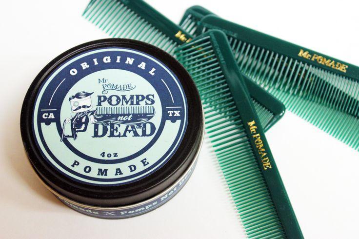 A great medium oil base pomade with a #plumeria scent. #pompsnotdead #mrpomade