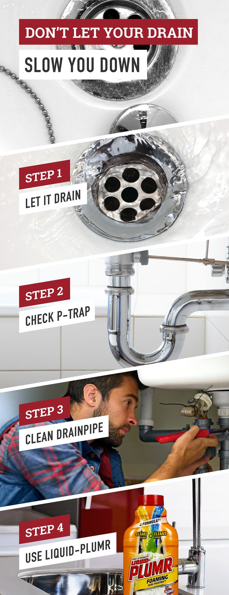 Photography Gallery Sites It us time to tackle that slow draining bathroom sink or tub Follow