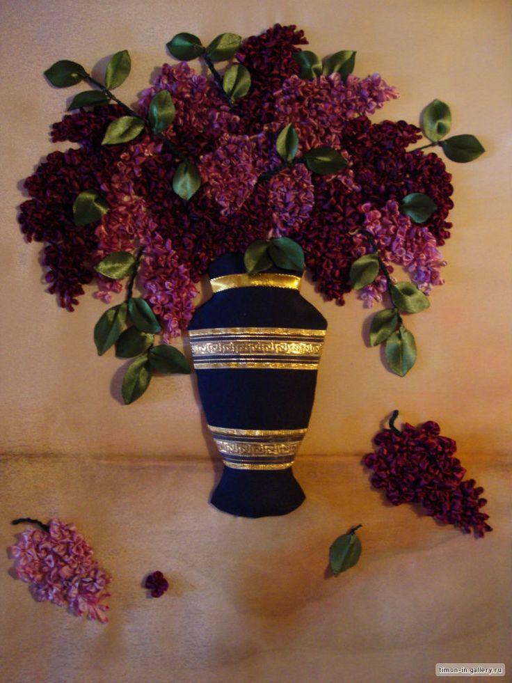 meroSmero arte em bordados: A beleza do bordado de fitas!