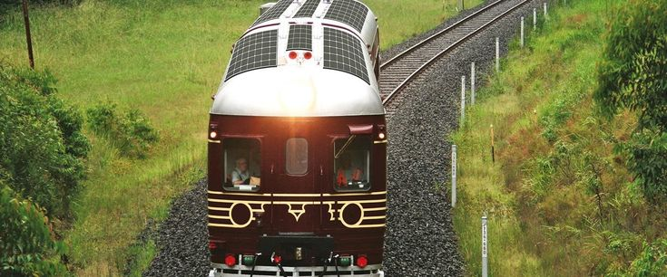 Byron Bay Railroad company transformed a heritage train into a train completely powered by solar energy in Australia.