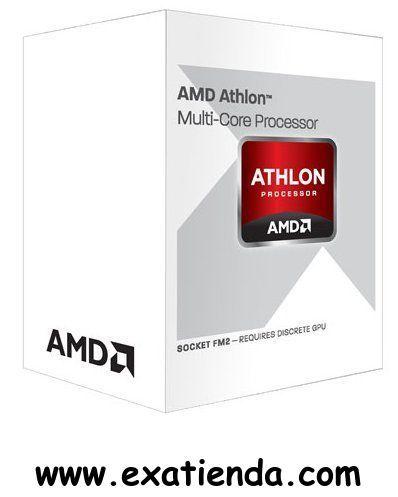 "Ya disponible Cpu AMD s fm2 x4 740 3.2ghz ""expo""               (por sólo 76.95 € IVA incluído):   Socket FM2 AMD Athlon II X4 740 Este modelo en BOX incluye Disipador con Ventilador AMD de serie. Detalles del producto  AD740XOKHJBOX - AMD Athlon II X4 740, Virgo, Quad Core, S FM2, 3.2GHz, 4MB Cache, 65W, Retail  Manufacturer: AMD CPU Type: Athlon II X4 CPU Model: 740 Socket: FM2 Core: Quad Core Core Name: Virgo Clock Speed: 3.2 GHz Turbo Speed: 3.7 GHz Graphics Chipset:(N"
