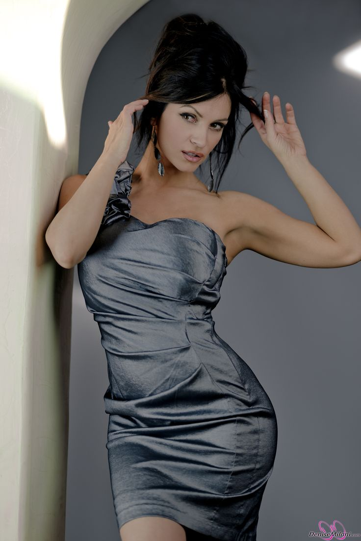 The gallery for --> Denise Milani In A Dress Denise Milani Blue Dress