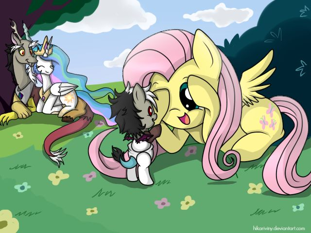 Baby Discord And Fluttershy 818 best Mlp im...