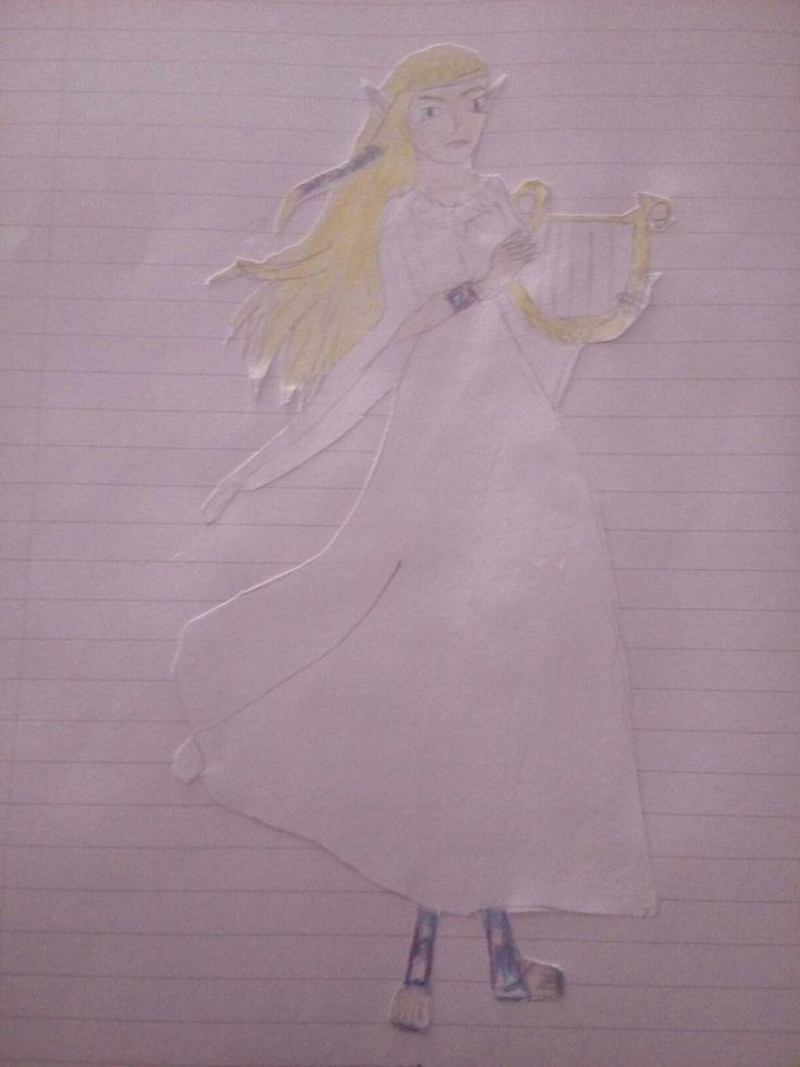 zelda a zeldadrawing drawing