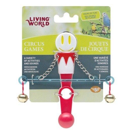 Juguete Circus Equilibrista LIVING WORLD - #FaunAnimal  nuestras aves de compañía pueden soñar acerca de unirse al circo.