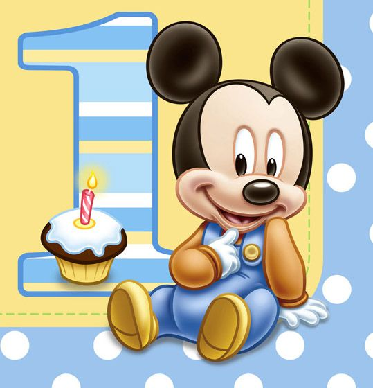Sarim and Eshal's Birthday on Pinterest | Baby Mickey, Minnie ...