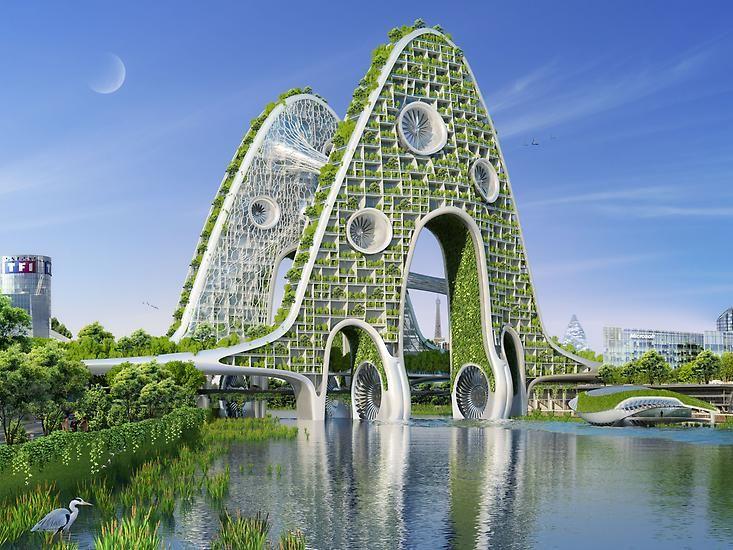 Die grünen Städte der Zukunft