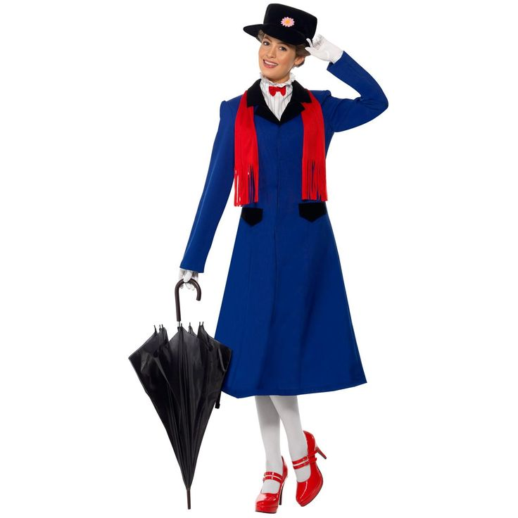 Mary Poppins Adult Costume  -- Shop online at BuyCostumes.com through Zoola and get cash back!