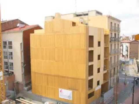 alterMATERIA: Edificio de seis plantas con estructura madera contralamin...