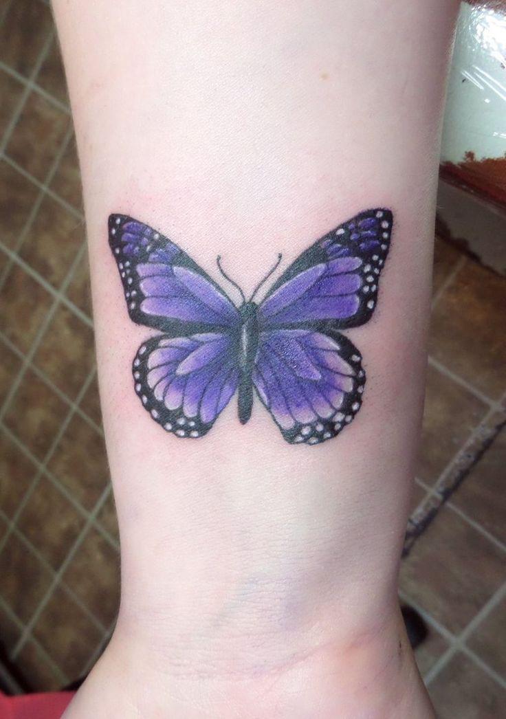 Popular tattoo choice, but butterflies stay pretty