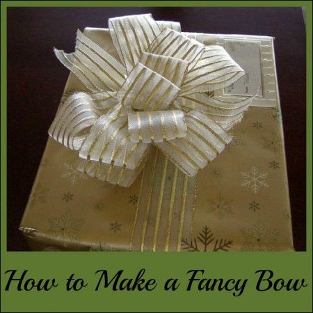 How to Make a Fancy Bow