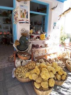 Kalymnian sponges - Greece