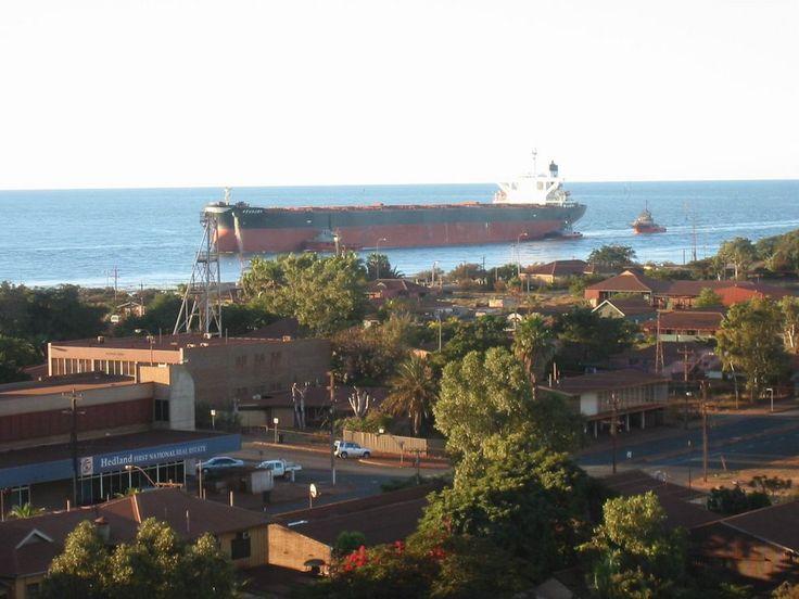 Port Hedland entrance