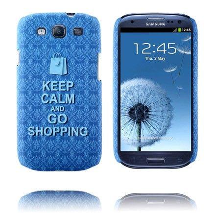 Party On (Blauw) Samsung Galaxy S3 Case