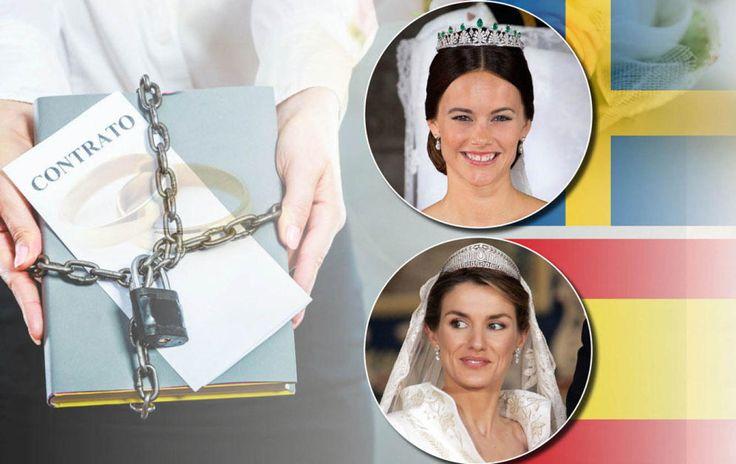 Foto: Sofía y Letizia en un montaje realizado por Vanitatis