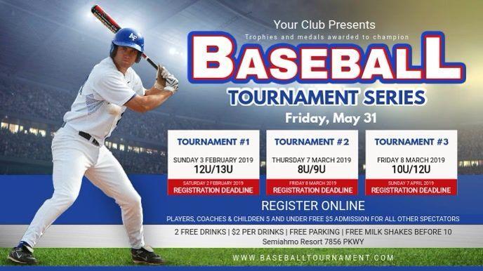College Baseball Tournament Schedule Banner Ad Baseball Tournament Baseball College Baseball