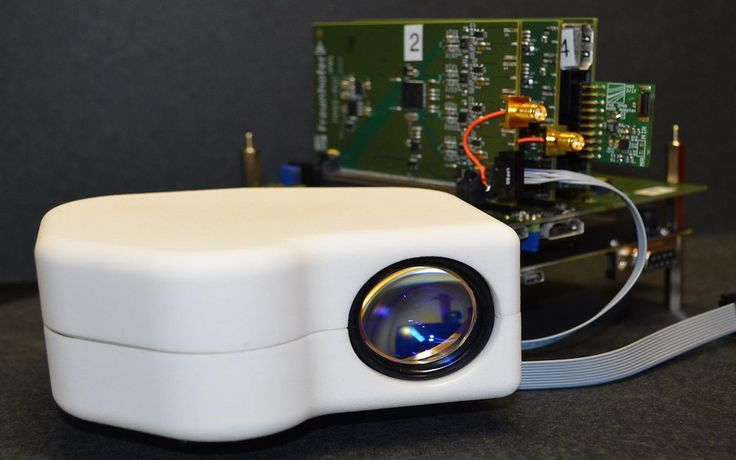 A portable retina scanner small enough to fit in a purse could one day be used to combat identity theft and strengthen personal security. The device can identify people by scanning their retina, a light-sensitive layer at the back of the eyeball.