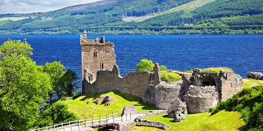 249-299 € -- 7 Tage Schottland mit Fähre & Hotel, -130 €