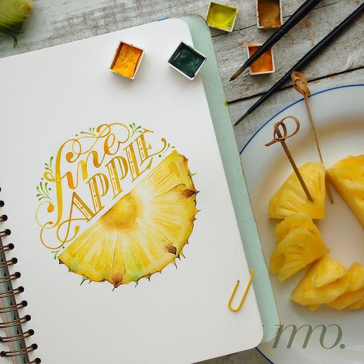 "1,026 Likes, 44 Comments - Ngah Muli Ong (@muliong) on Instagram: ""#nmomade If you were a fruit, you'd be a Fineapple Sketched this a while ago for one of…"""