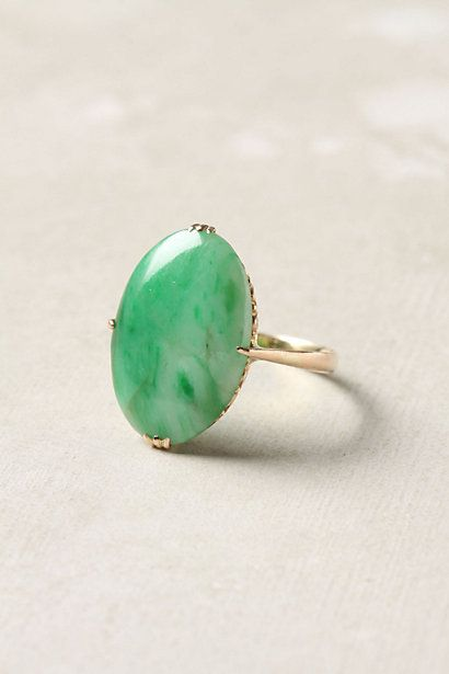 victorian jade ring...estate jewelry
