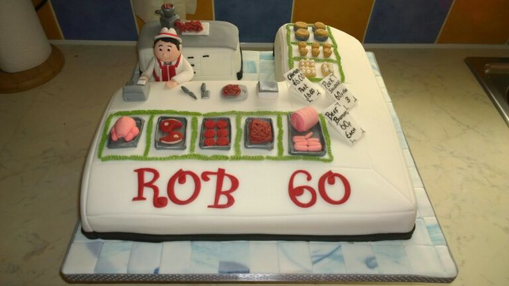 Butcher cake with images cake decorating cake dad