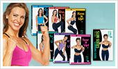 Wish this picture was bigger, SLIM SERIES MY ABSOLUTE  FAVORITE!!  Actually, I just love all of the Debbie Siebers DVD'S you can't go wrong with any of her video's! She's Awesome!