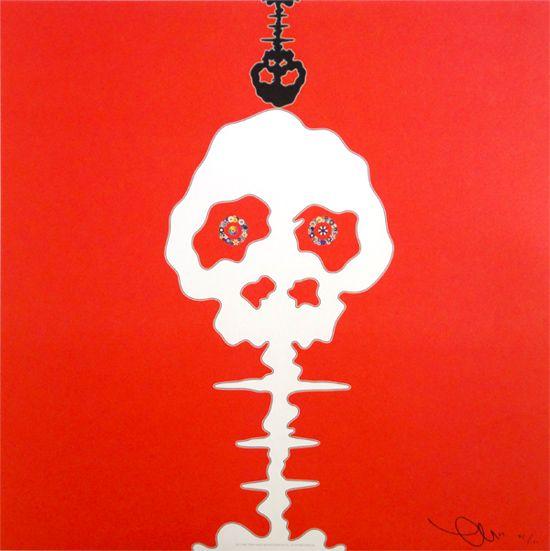 Takashi Murakami > Time Bokan - Red #popart #takashimurakami #superflat #kaikaikiki #artetrama
