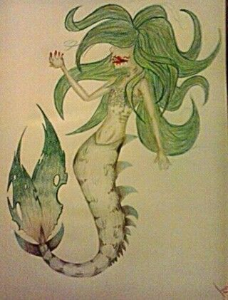 i guess it's called a siren? tell me if i'm wrong :0