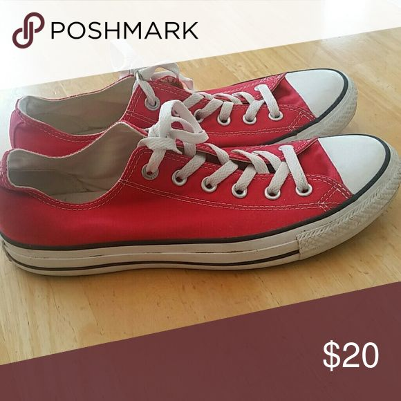 Shoes Red converse Shoes Sneakers