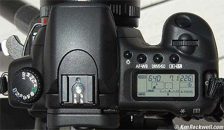 Canon 30D ... cheat sheet