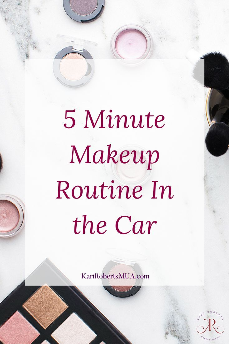 3de01e64c5af Women often do their makeup in the car. Here s quick discussion about how  you can have a good 5 minute makeup routine in the car.