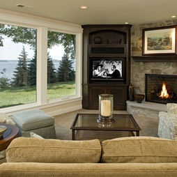 Corner Tv Design, Pictures, Remodel, Decor and Ideas