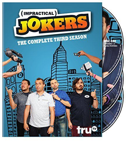 Impractical Jokers: Season 3 DVD Various, Various | Format: DVD via https://www.bittopper.com/item/impractical-jokers-season-3-dvd-various-various/
