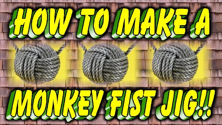 How to Make A Paracord Monkey Fist Jig...Instructional video