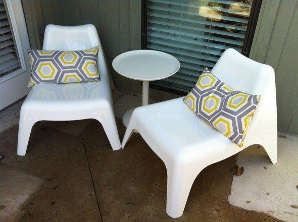 Ikea Ps Vago Easy Chair Outdoor Zoomly Beach House