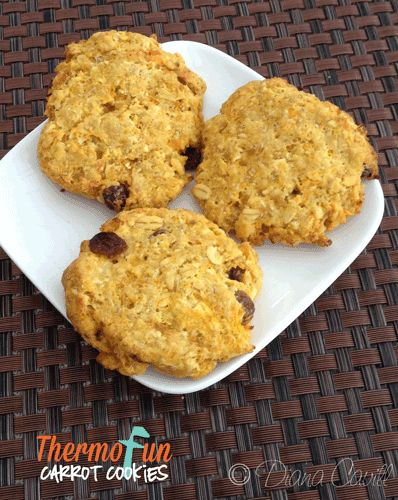 Carrot cookies in thermomix