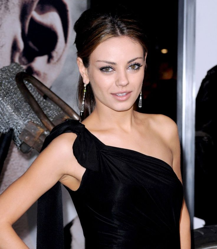 Mila Kunis Eye Makeup Black Swan