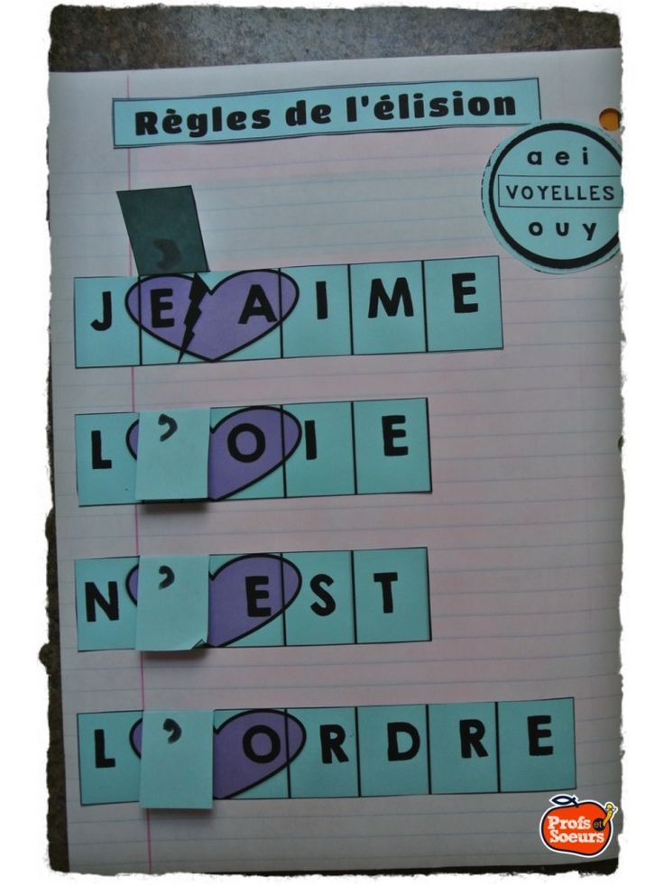 Cahier Interactif: Orthographe - Profs & Soeurs