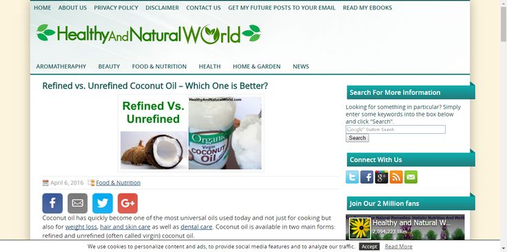 Refined vs. Unrefined Coconut Oil – Which One is Better?