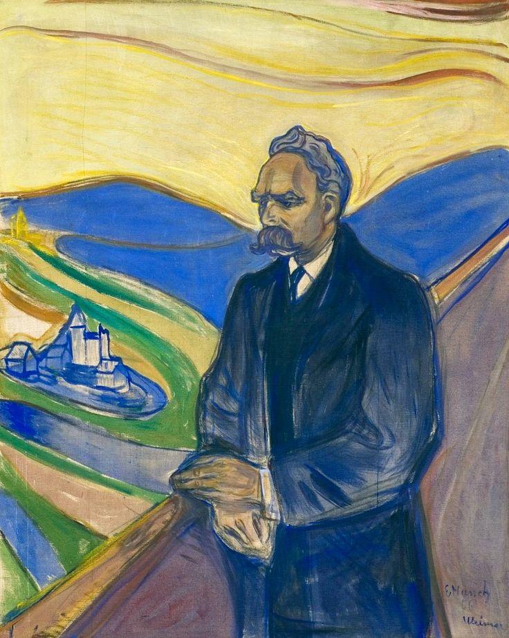 Le Prince Lointain: Edvard Munch (1863-1944), Nietzsche - 1906