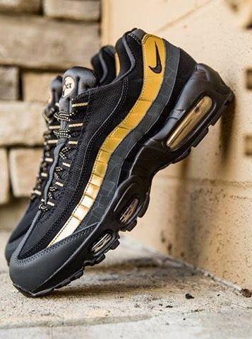 Nike Air Max 95 Black Gold