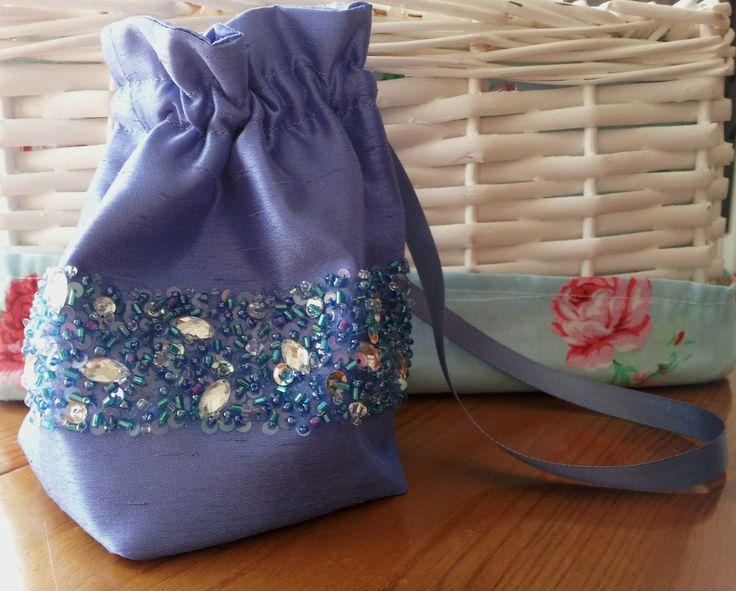 Handmade by Beautiful Unique beaded bridesmaid bag