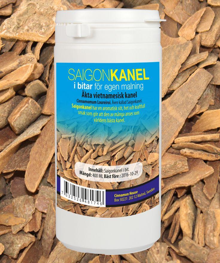 Detta är äkta Vietnamesisk kanel Cinnamomum loureiroi. Kanelen kallas för Saigonkanel trots att den växer i centrala och norra Vietnamn.   Smaken är het, mycket aromatisk och kryddig. Saigonkanel anses av många som världens bästa kanel. Det som finns i bu