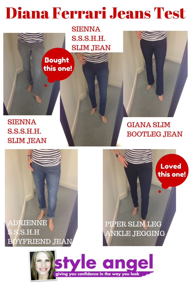What is your favorite style of jeans! I have done the Jeans test for you!
