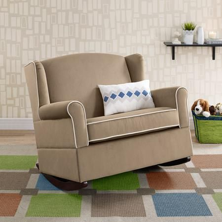Best Baby Relax Lainey Wingback Chair And A Half Rocker 400 x 300