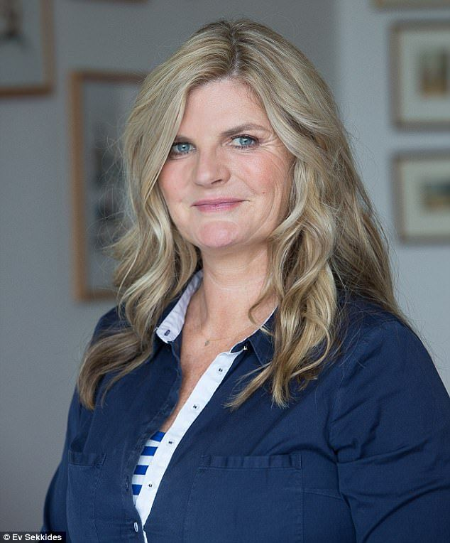 Susannah Constantine (pictured), 55, believes work has been her safety net from going down the same route as her mother