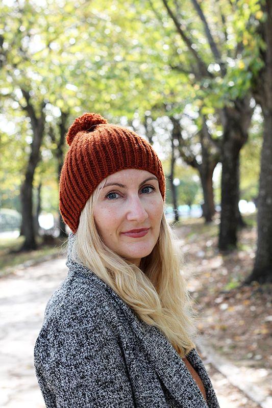 Knit Hat Pattern   cute knits, etc   Knit hat pattern easy, Knitted