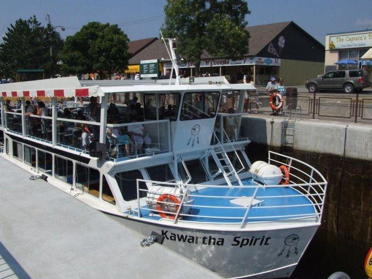 Cruise through Lock 34 on The Kawartha Spirit  ( Fenelon Falls, Kawartha Lakes )
